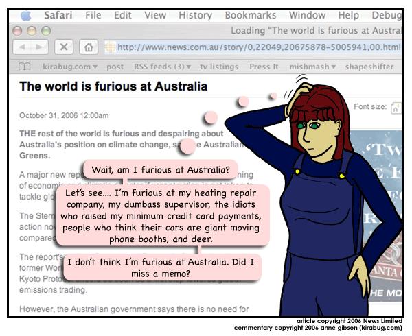 Nope, I've checked twice, Australia's not on my list.