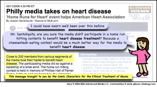 I'm pretty sure they didn't want to benefit heart disease.
