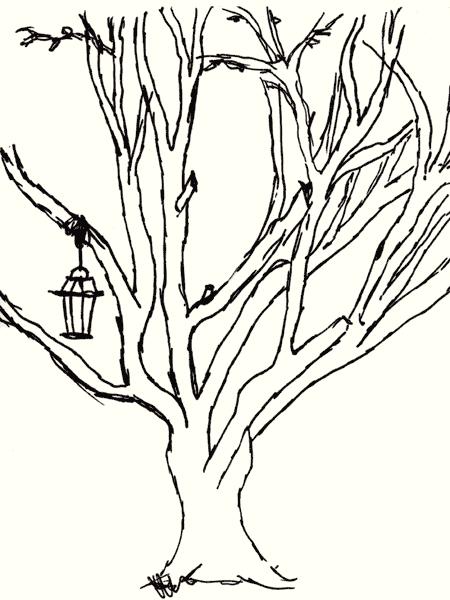 tree drawing simple. to Simple+sharpie+drawings